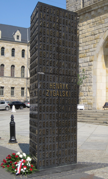 Enigma Codebreakers Monument, Poznan