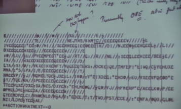 Alan Turing markup of machine code