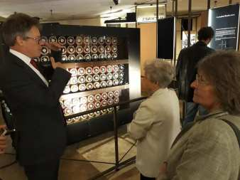 Dermot Turing explains the Bombe