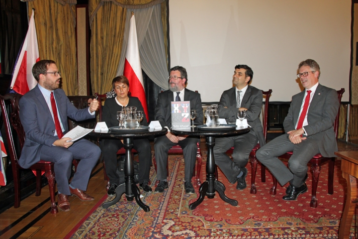 Panel discussion at Polish Embassy