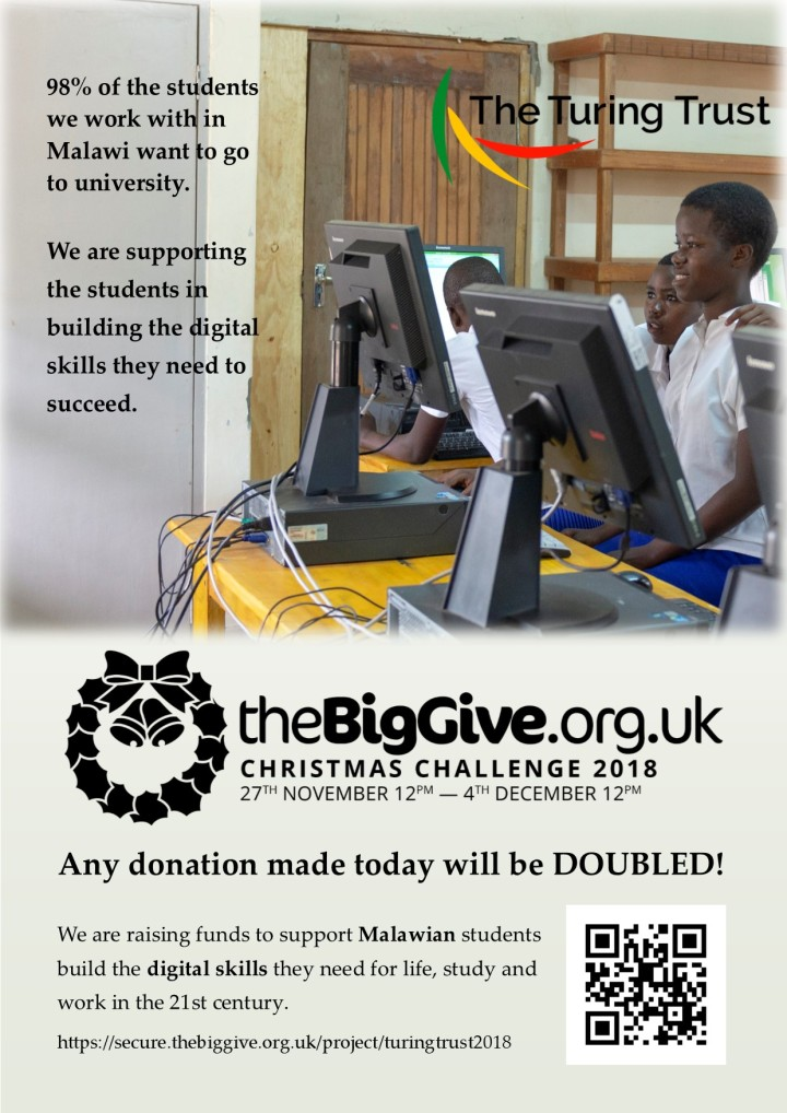 The Big Give Christmas Challenge poster