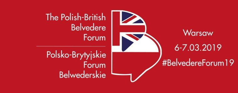 Polish-British Belvedere Forum announcement 6-7 March 2019