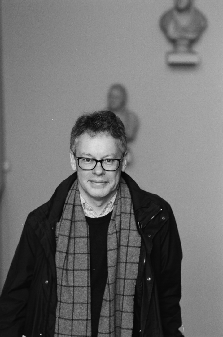 Dermot Turing (black and white)