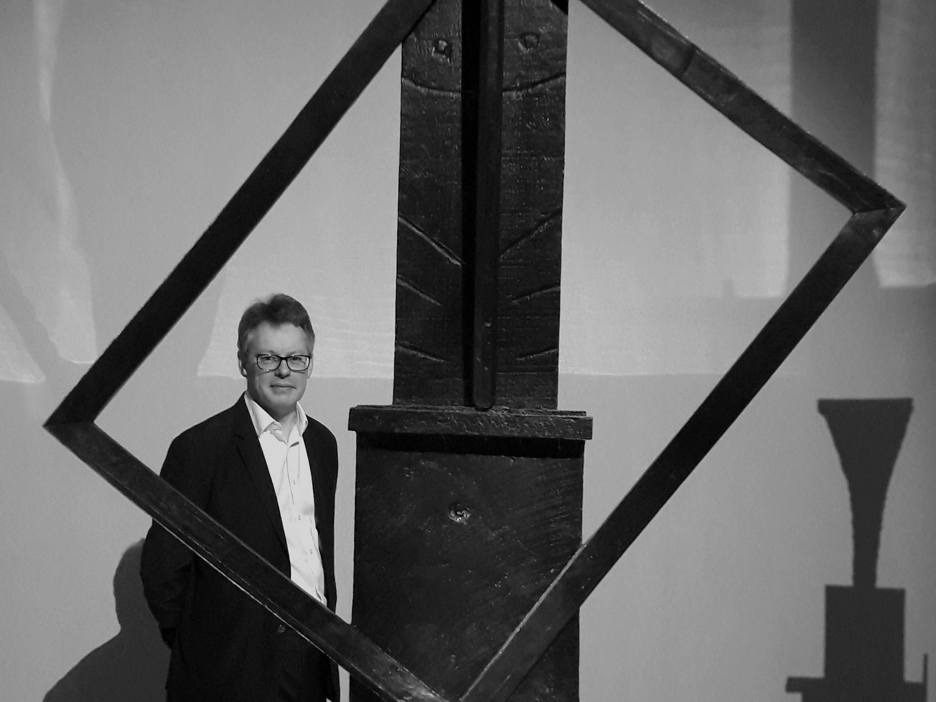 Dermot Turing - artistic pose