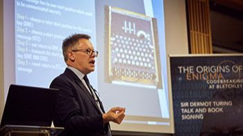 Dermot Turing at Kellogg College Oxford