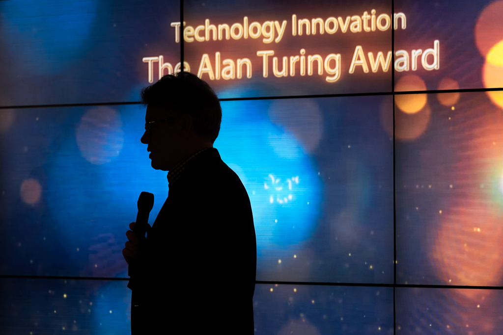 Dermot Turing presents the Alan Turing award