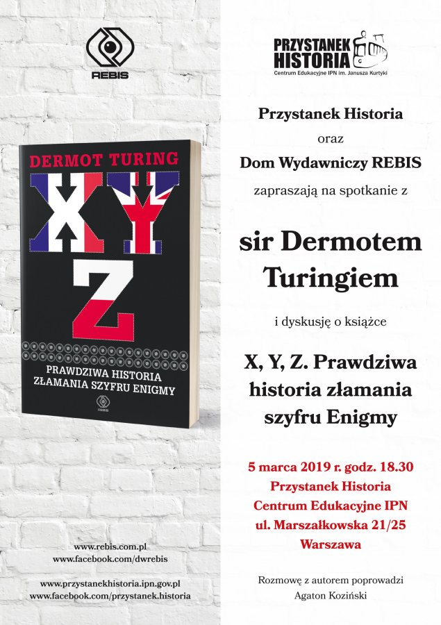 Dermot Turing launches the Polish edition of his book in Poland
