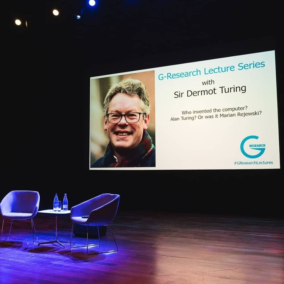 Dermot Turing at G-research lecture