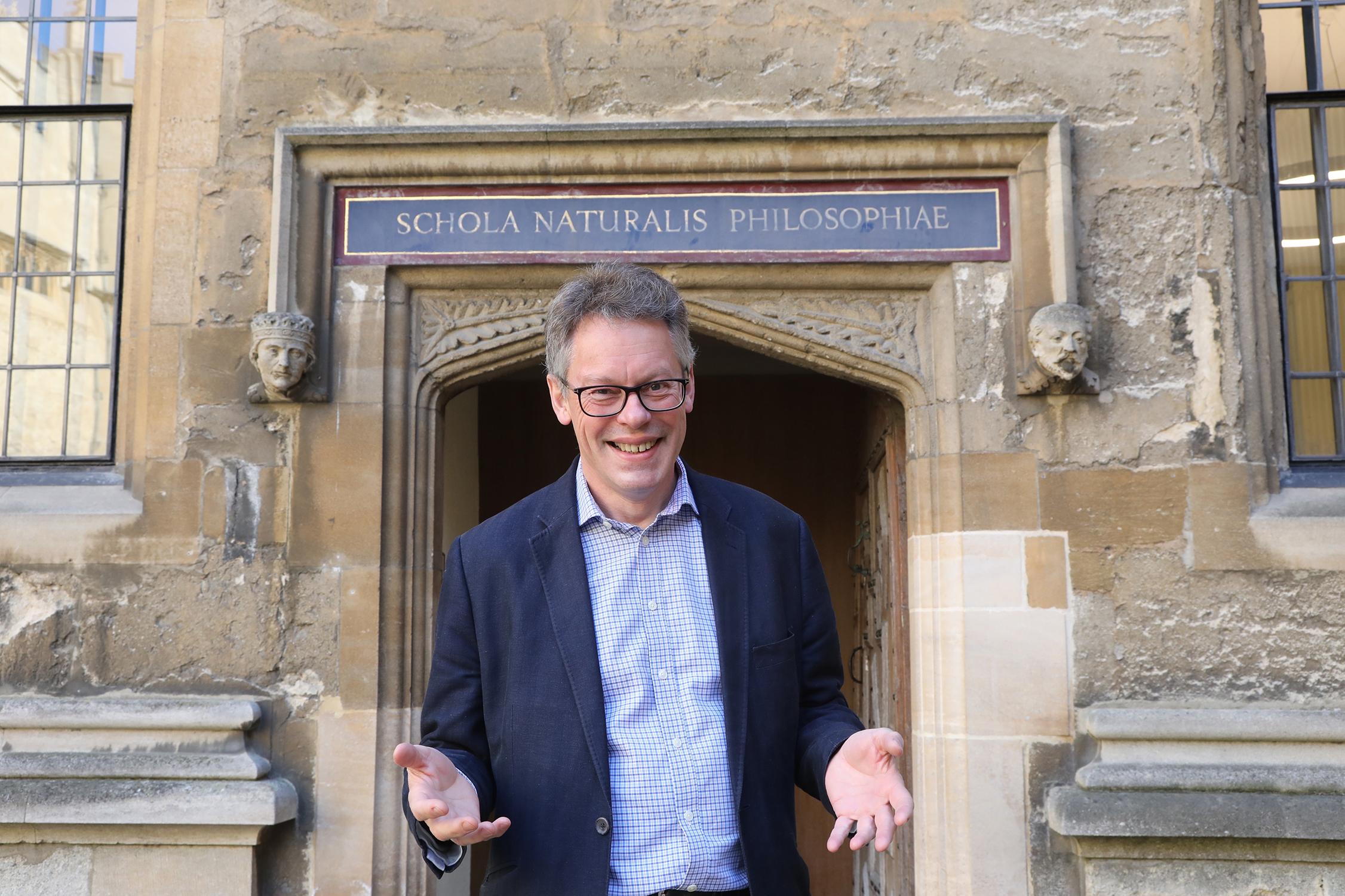 Dermot Turing in Oxford