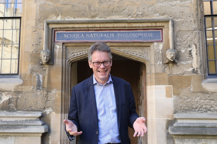 Dermot Turing in Oxford