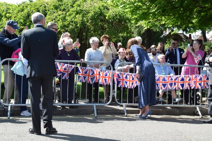 HRH the Duchess of Cambridge meets veterans at Bletchley Park