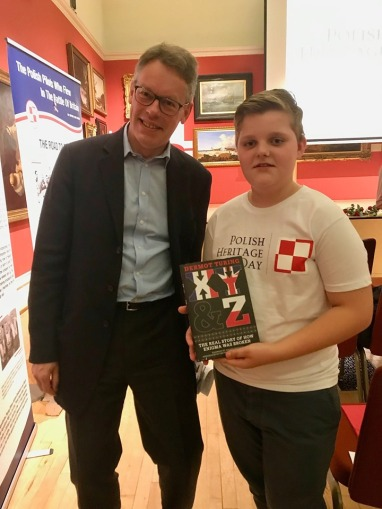 Dermot Turing at Polish Heritage Day 2019