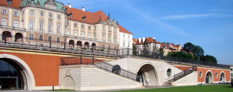 Kubicki Arcades at the Royal Castle in Warsaw