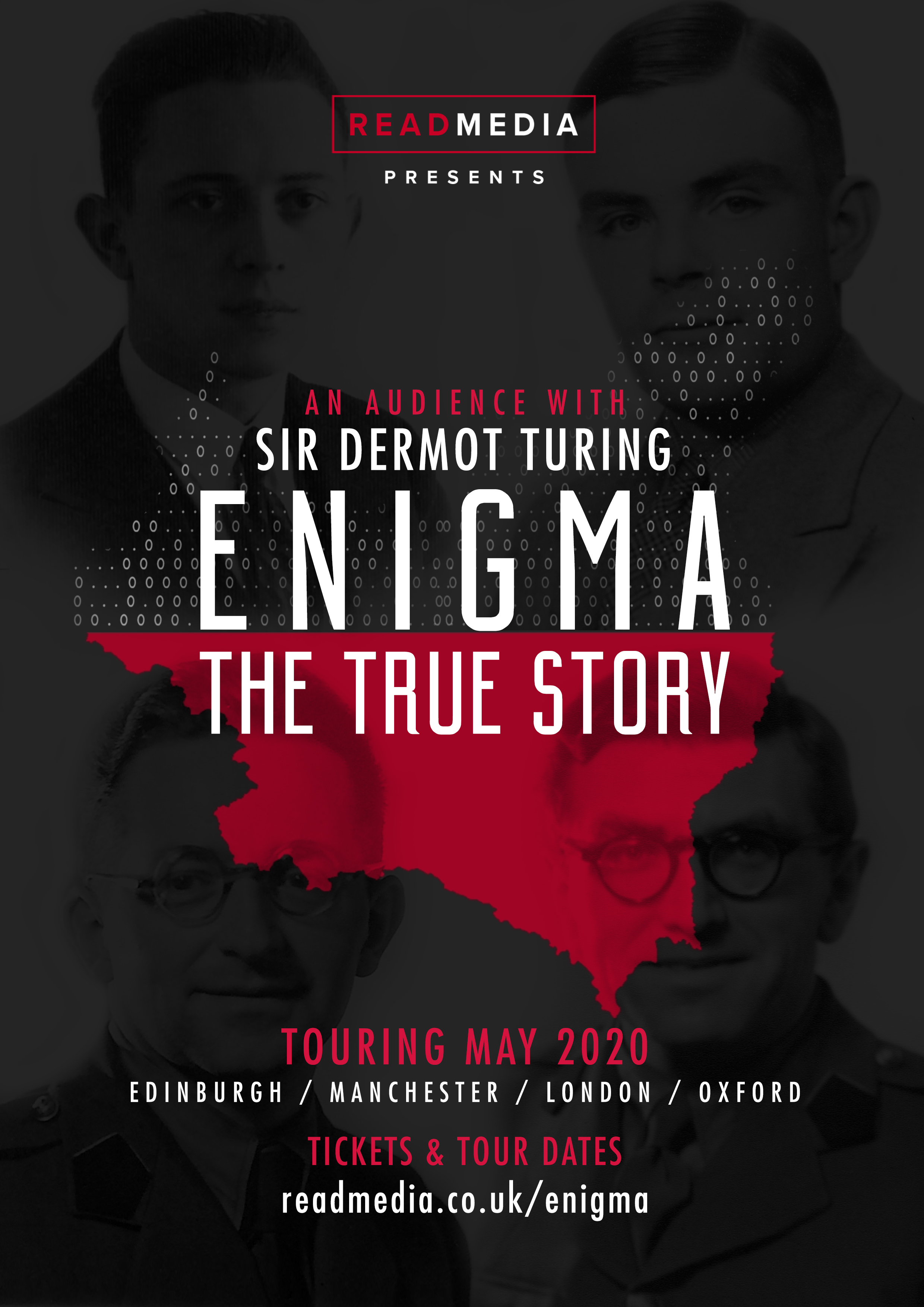 Enigma The True Story poster