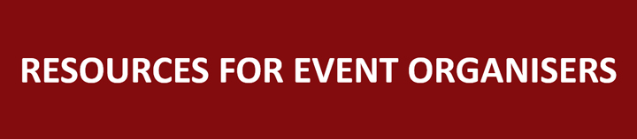 Resources for event organisers Button image