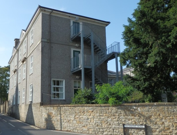 Westcott House, Sherborne School, to show Alan Turing's study on the ground floor